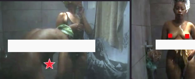 Shower nude africa big brother