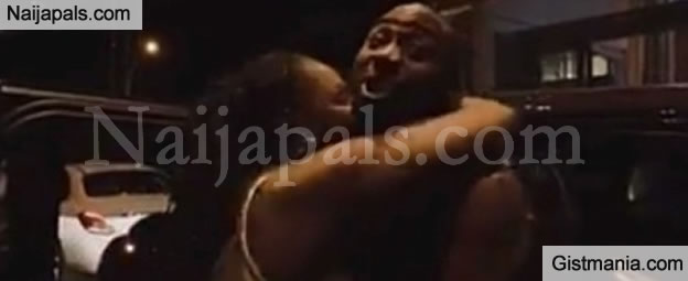SHOCKING !!!: Davido Shouts Out His Girlfriend, Chioma's Name After A Female Fan Rushed To Hug Him (WATCH)