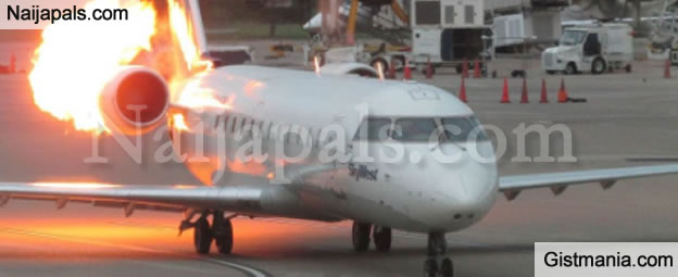 LORD!!!: 5 People Injured After A Delta Flight From Lagos To Atlanta Forced To Turn Back Due To Engine Issues