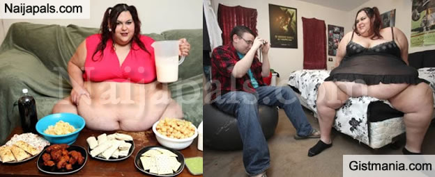 PHOTOS Officially Meet The Woman Who Wants To Become The  : FattestInTheWorld from www.gistmania.com size 624 x 255 jpeg 43kB