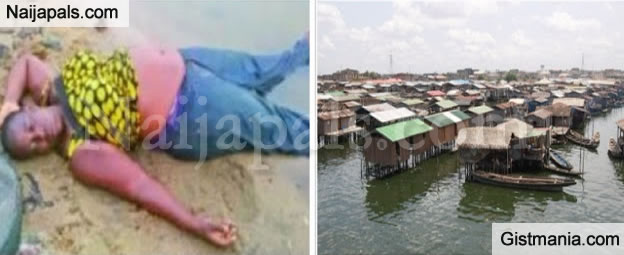 Woman Rescued After Jumping Into Lagos Lagoon In An Attempt To Kill Herself Photo Gistmania