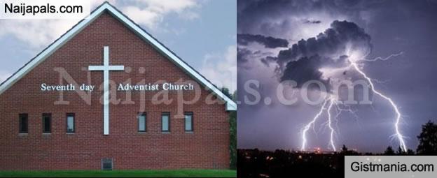 LORD!!!: 140 Injured As Lightning Strike Kills 16 Inside Seventh Day Adventist Church In Rwanda