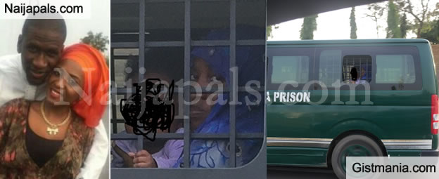 PHOTOS: See Close Op Photos Of Alleged Husband Killer, Maryam Sanda On Her Way To Prison