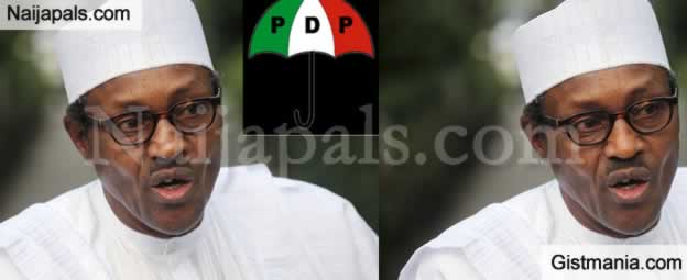 SHOCKING !!!:  You Preach Anti-Corruption, Prosecute Oshiomhole, Lawal For Corruption – PDP to Buhari