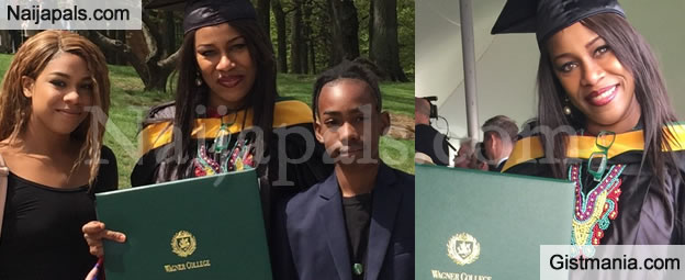Former Actress, Regina Askia-Williams Bags Nursing Degree At Wanger College In United State – PICS