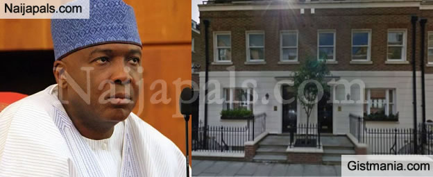 Senate President, Bukola Saraki Owns £15m London Mansions – Transparency International Reveals