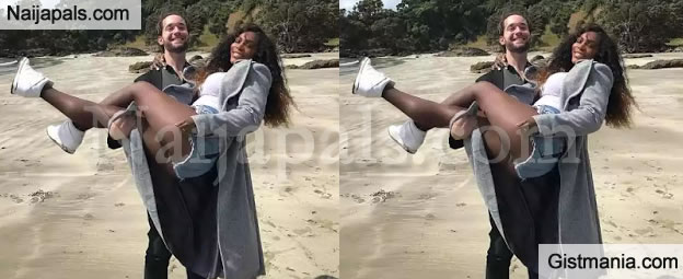 LOVE BIRD: Serena Williams Gets Swept Off Her Feet By