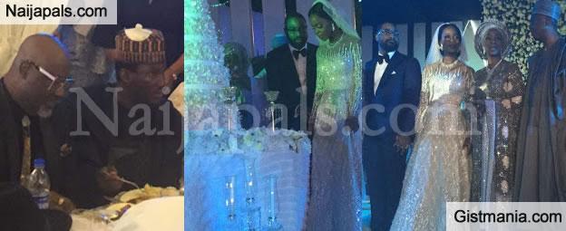 Check Out Lovely Photos From Senator Bukola Saraki's Daughter, Tosin's Wedding (PHOTOS)