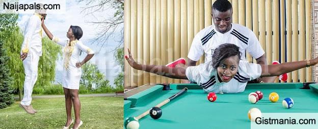 Nigerian S Shows Off Their Weird Pre Wedding Photos Gistmania
