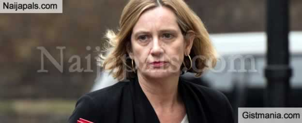 Nigerians In UK Rejoice Over Resignation Of Home Office Boss, Amber Rudd