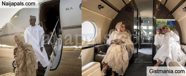 Beautiful Couple, Ameera & Usman Take Their Pre-wedding Photos Aboard A Private Jet (Photos)