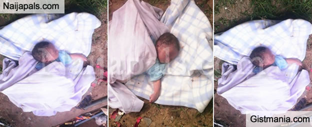 <img alt='.' class='lazyload' data-src='https://img.gistmania.com/emot/shocked.gif' /> <b>A Day Old Baby Found Abandoned in Building in Anambra</b>