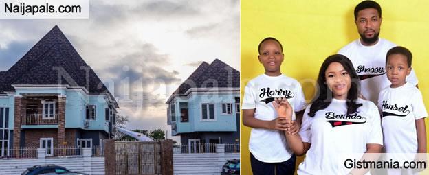 """My Birthday Gift"" -Nollywood Actor, Badaiki Erom Shaggy Shows Off New House"