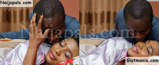 Nigerian Couples Share Lovely Bedroom Pre-Wedding Pictures (Photos)