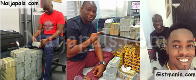 techiesng lagos big boy owner of mompha bureau de change ismaila flaunts 4million cash on ig. Black Bedroom Furniture Sets. Home Design Ideas