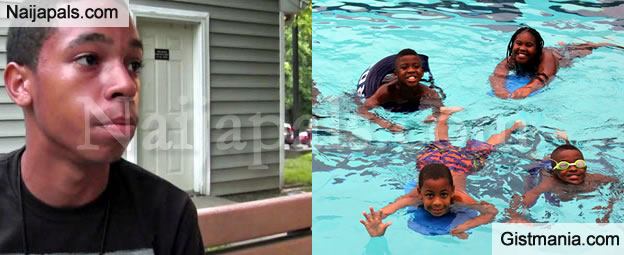 Of The Young Men Attending Birthday Celebration Ejaculated In Pool Without Warning House Guests Accidentally Ending Up Impregnating Half