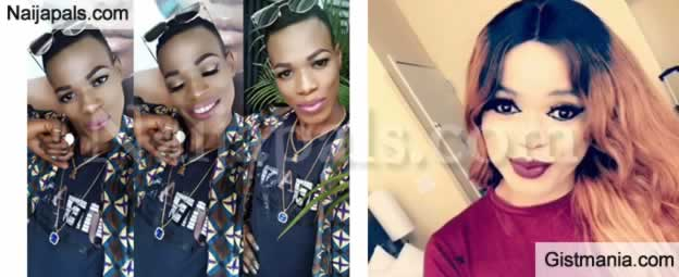 """SHOCKING!!!: """"Bobrisky Is Fake, He Doesn't Have A Shop In Lekki Or Ozone""""- Bobrisky Hairstylist Exposes Him"""