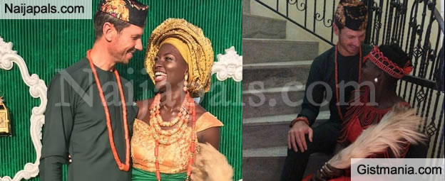 More Lovely Photos From The Traditional Wedding Of Lt Dora Akunyili's Daughter to Her Canadian Boo