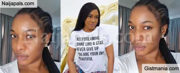 HOT UKWU !!!:  Actress, Chika Ike Looks So Flawless As She Shares No Make-Up Selfie (Photo)