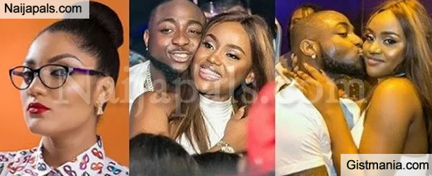 LORD!!!:  Ex BBNaija Housemate, Gifty Powers Mocks Davido & Chioma For Making so Much Noise With Their Affairs