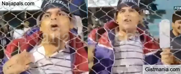 SHOCKING !!!:  Football Fanatic Escapes From Hospital To Watch Live Match With Drip (Shocking Photos)
