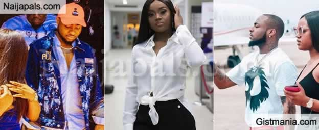 Davido GF, Chioma Avril Makes It Clear She Isn't Ready To Share Her Assurance With Any Girl