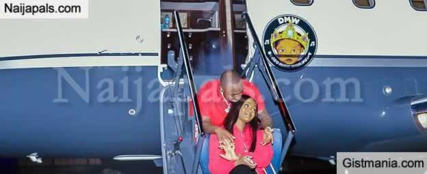 SHOCKING !!!: Davido Gives Chioma Lift On His Private Jet (Photos)