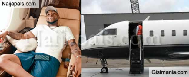 EXPOSED !!!: Davido Is Lying About His New Private Jet (Video and Full Evidence)