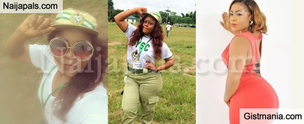 Nollywood Actress With Big Buts Didi Ekanem Shares Her Nysc Pictures