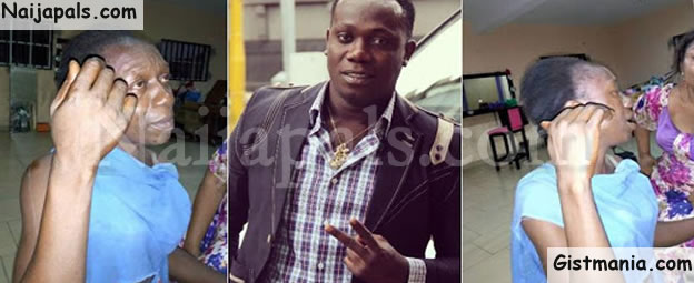 SHAME!!!: Singer Duncan Mighty's Elder Sister Heavily Beaten After She Was Caught Stealing At A Mall (Photos)