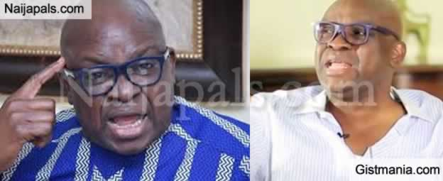 "BREAKING !!!: ""Will Saraki's Impeachment Reduce The Price Of A Bag Of Rice To N7,000"" – Fayose Shades APC"