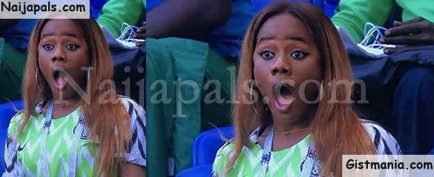 did anyone see this beautiful during nigeria vs