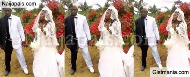 LORD !!!:  Checkout This Groom's Hilarious Unique Wedding Look That Got Everyone Talking