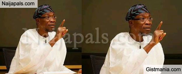 """""""I Have Not Received A Dime In Salary Since Assuming Office In 2014"""" – Rauf Aregbesola"""