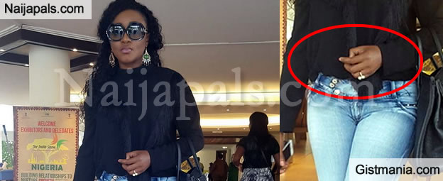 Ini Edo Spotted With A Massive Engagement Ring Planning For Another Wedding