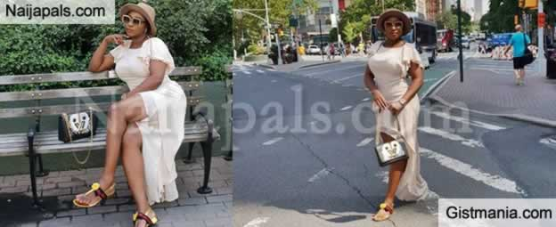 HOT UKWU !!!: Actress, Ini Edo Is Enjoying A Life Of Affluence In New York (Photos)