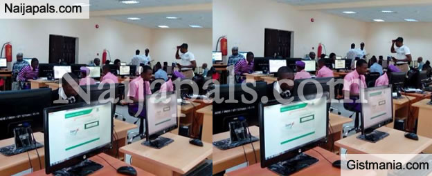 30-Year-Old Teacher, Samuel Timothy Arrested While Writing JAMB For Brother In Niger