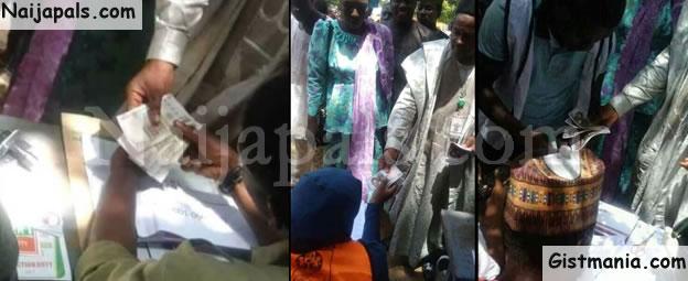 VOTE BUYING! PDP Accuses APC Of Vote Buying In Katsina Bye-Election (Photos)