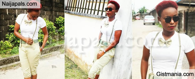 LADIES, CAN YOU ROCK THIS NYSC UNIFORM? (THREE QUARTER LENGTH DUNGAREES & BOW TIE)
