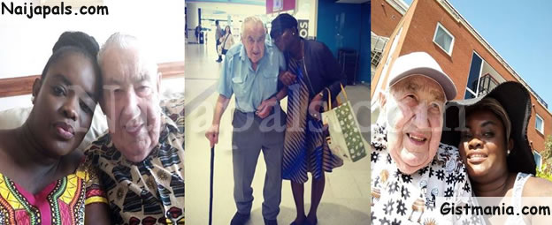 """SHOCKING!!!:  """"I Met My Husband Through Yahoo Yahoo"""" – Lady Who Married 90-yr-old White Man Discloses How They Met"""
