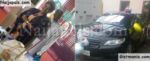 Nigerian Lady Surprises Her Husband With A Car Gift To Celebrate His Birthday Photos