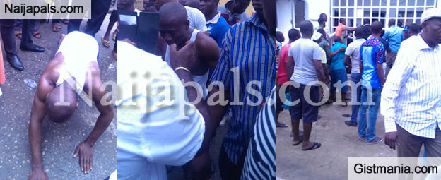 Huh man threatens to commit suicide outside fcmb after - Post office bureau de change buy back ...