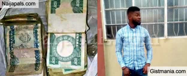 SHOCKING !!!:  Man Discovers Old Naira Notes Left Behind By His Grand Dad For Them
