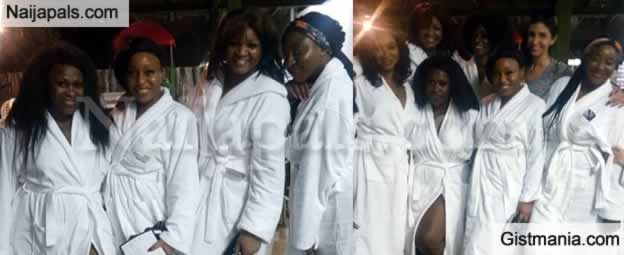 HOT!!!: Nollywood Goddesses: Omotola, Rita Dominic, Ini Edo and Uche Jombo In a Photo Together
