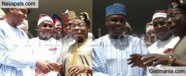 BREAKING !!!: Bukola Saraki Breaks Silence On His Meeting With Former President, Olusegun Obasanjo (Photos)