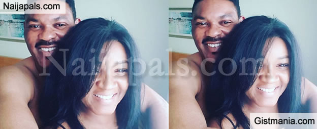 Omotola And Hubby Look Romantic In Private Valentine Photo   Gistmania