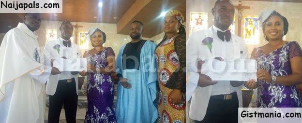 Couple Hold Simple Wedding With Only Seven Guests In Attendance (Photos)
