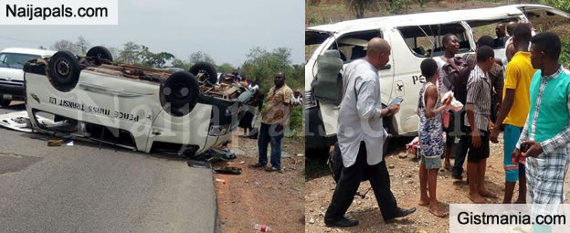 Peace Mass Transit Bus Involved In A Terrible Accident Again