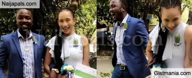 HOT Nollywood Actress, Princess Pemu Marries Her Ghanaian Baby Daddy!