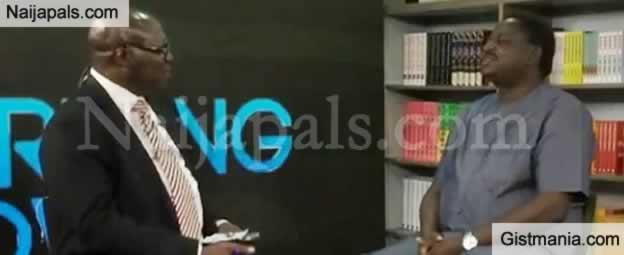 SHOCKING !!!:  Jonathan's Spokeperson, Rueben Abati Tackles Pres. Buhari's Spoke Person, Femi Adesina On Live TV